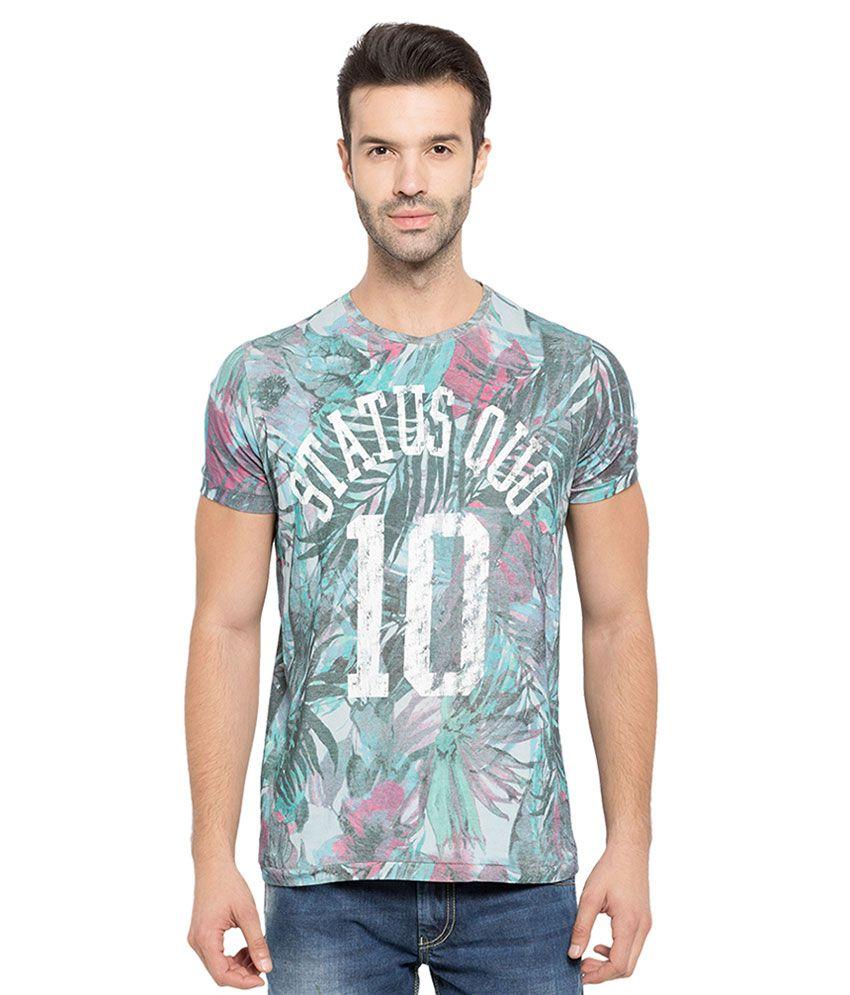 Status Quo Multi Colored T-Shirt