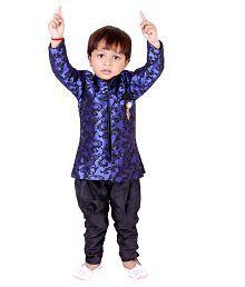 Tiny Toon Blue Kurta Pajamas For Boys