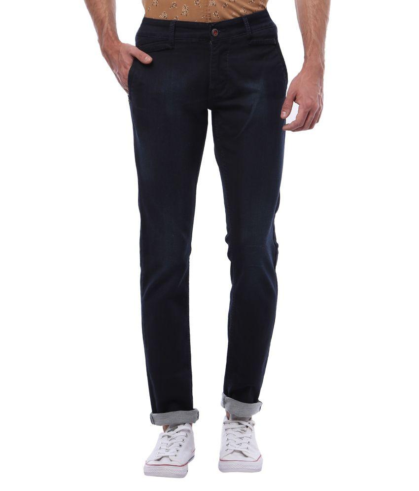 Vintage Navy Slim Fit Jeans