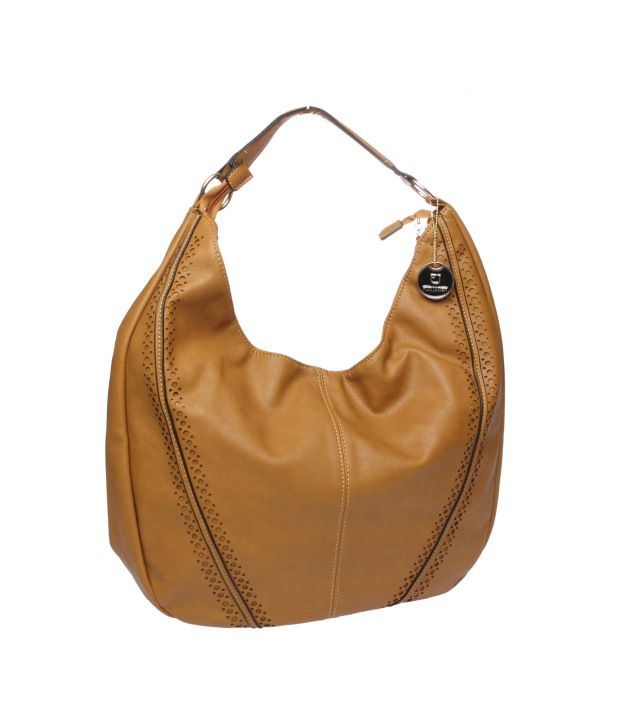 Fur Jaden Tan P.U. Hobo Bag - Buy Fur Jaden Tan P.U. Hobo Bag Online at Best  Prices in India on Snapdeal 84b064c59e