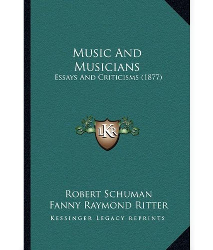 Musicians essays on music