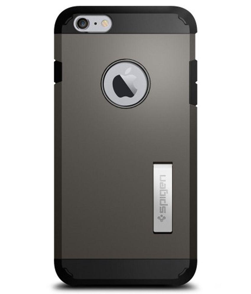 best service 5359c 50e90 Spigen iPhone 6S Plus/6 Plus Back Case Tough Armor (Gunmetal) (SF coated)