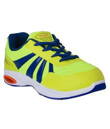Campus Green & Blue Sports Shoes For Kids