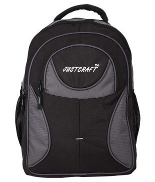 4eaff8e0a10b91 Justcraft GRey Backpack For Unisex available at SnapDeal for Rs.695