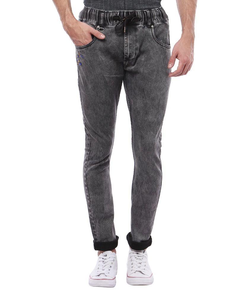 Vintage Grey Slim Fit Jeans