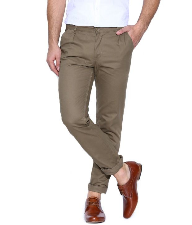 Hubberholme Brown Regular Chinos Trouser