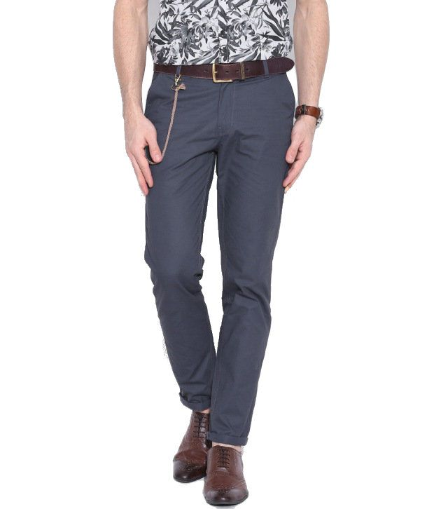 Hubberholme Grey Regular Chinos Trouser