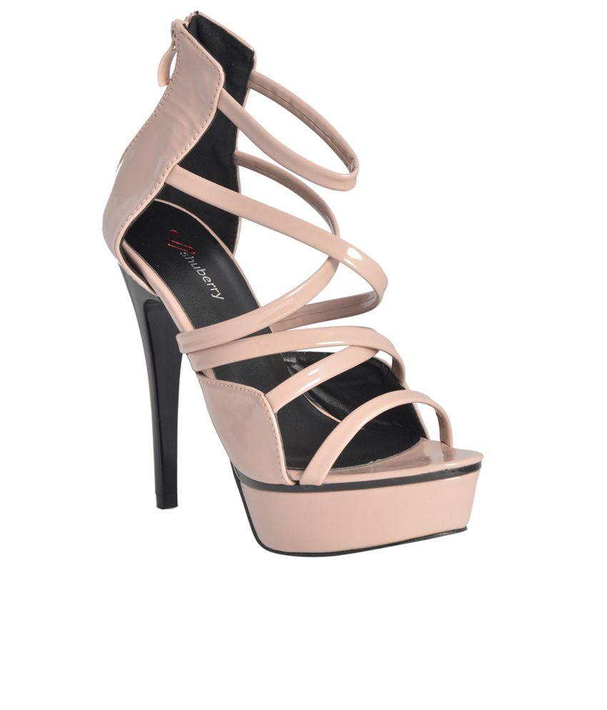 Shuberry Pink Stiletto Heels