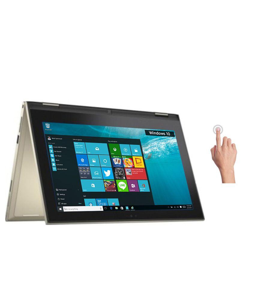 Dell Inspiron 3148 2-in-1 Laptop (Y563502HIN9) (4th Gen Intel Core i3- 4GB RAM- 500GB HDD- 29.46cm (11.6)- Touch- Windows 10) (Gold)