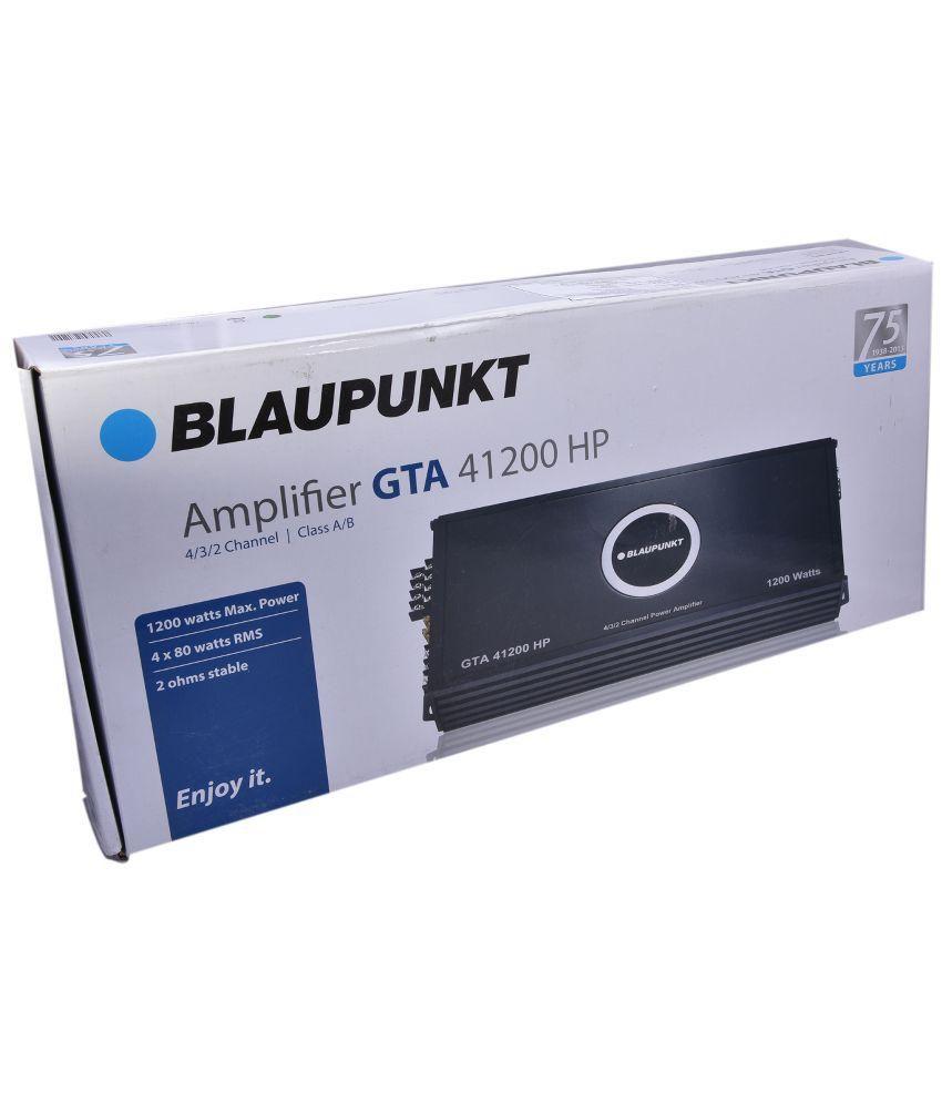 Blaupunkt GTA 41200 HP Amplifier