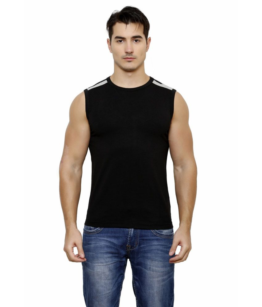 Casual Tees Black T Shirt