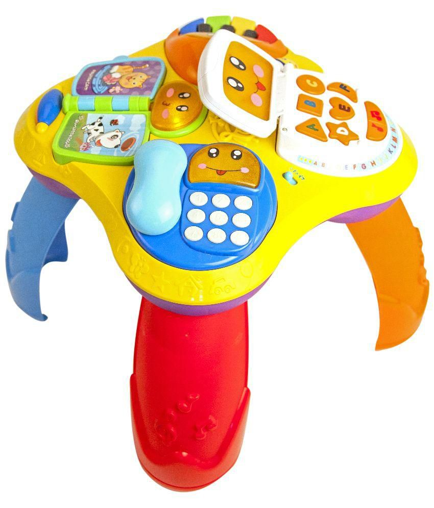 Mitashi Multicolor Electronic Mini Play School Learning Toy