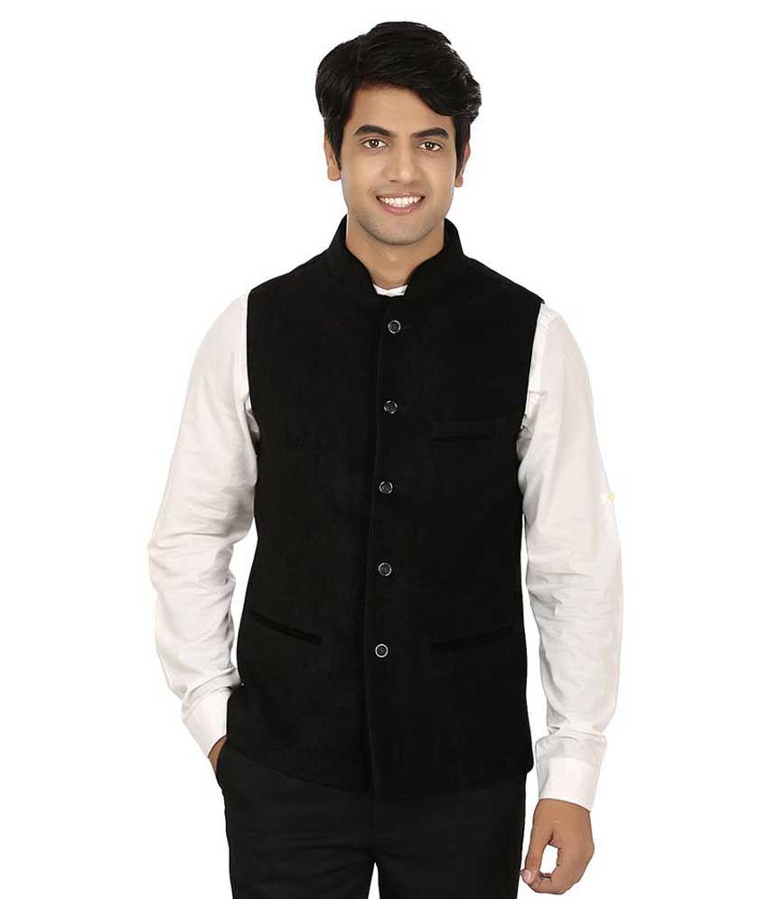 Nasir Black Casual Blazers Single