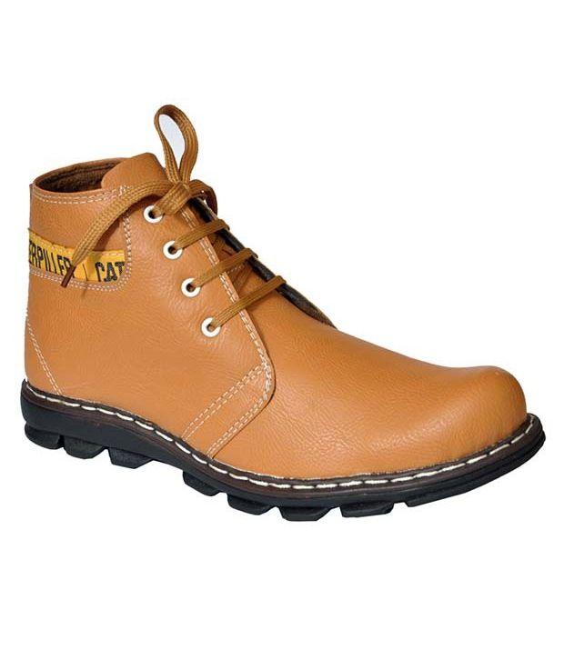 Optical Tan Boots