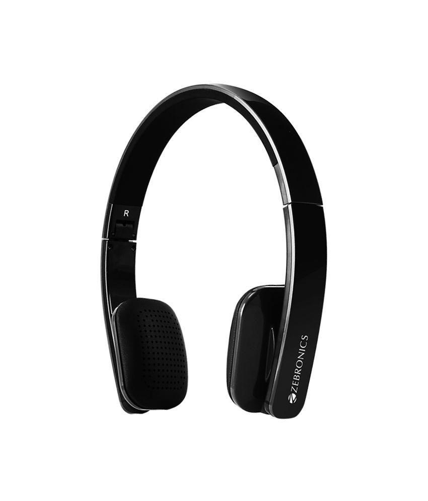 b0c21979b39 ... Zebronics Happy Head Wireless Bluetooth Headphones With Mic ...