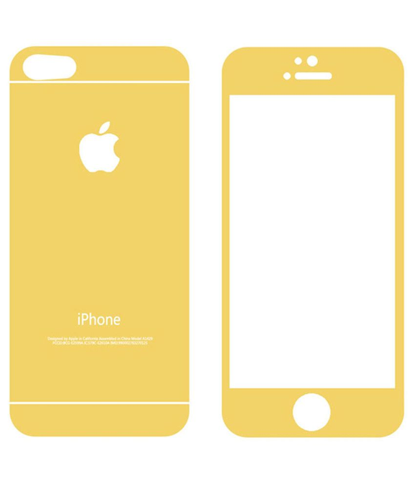 Apple iPhone 5S Tempered Glass Screen Guard by Hutz