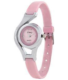 Glory Pink Analog Watch for Women