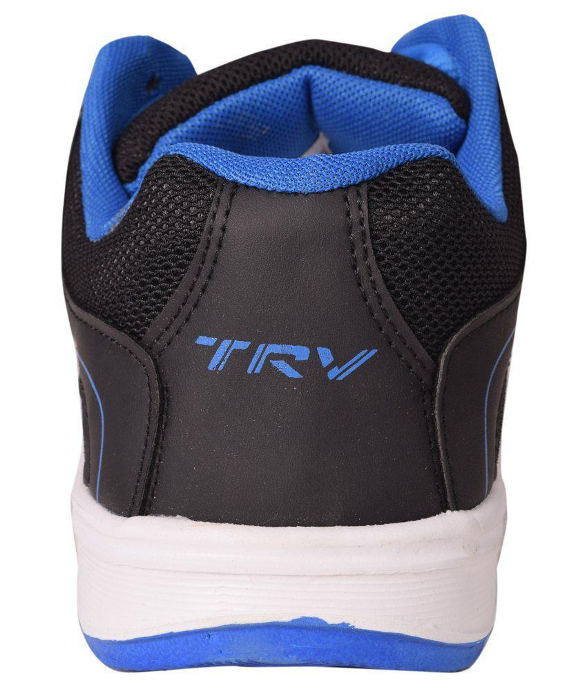 TRV Black Running Shoes