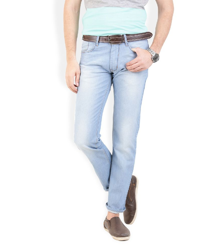 Thisrupt Blue Slim Fit Jeans No