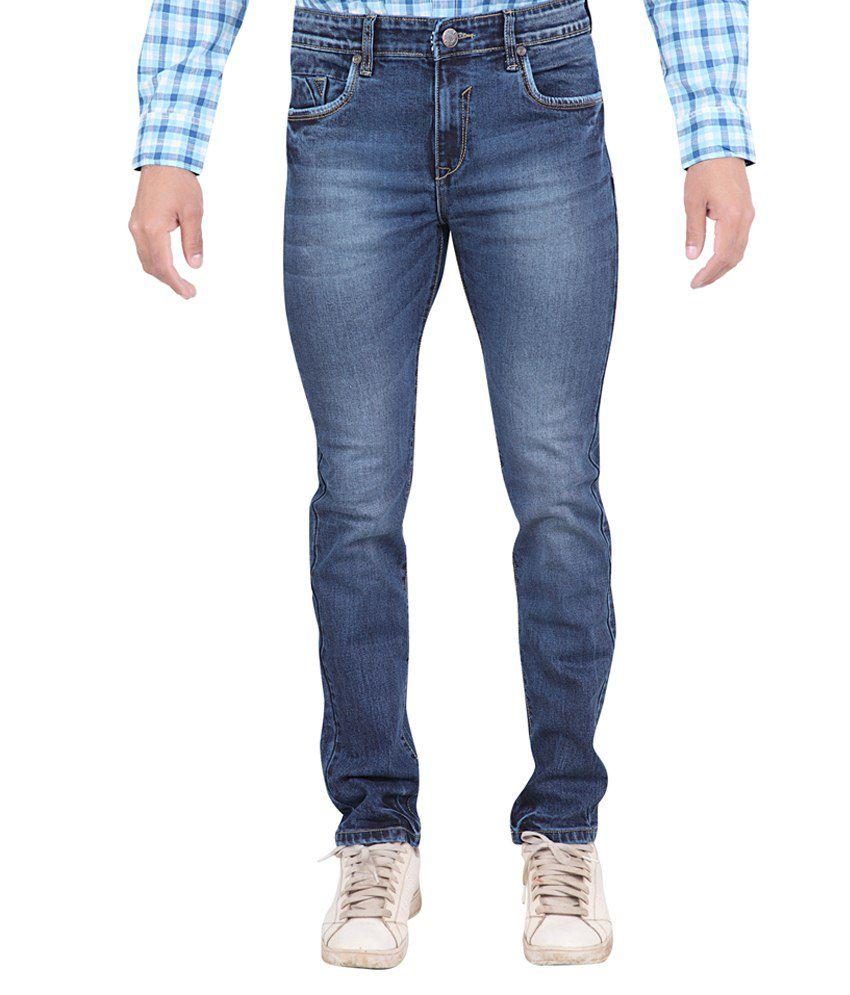 Stoke Blue Slim Fit Jeans No