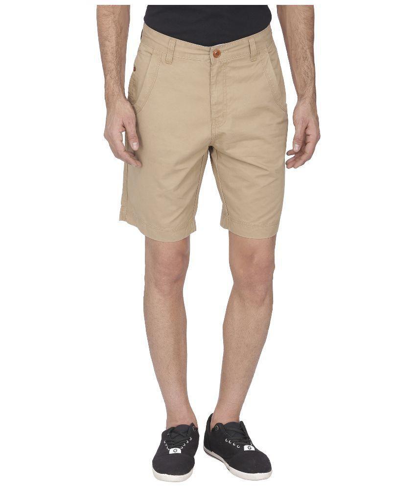 Wilkins & Tuscany Beige Shorts Single