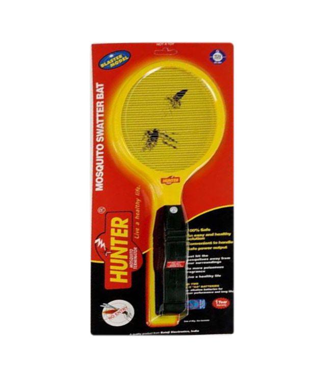 Hunter Mosquito Killer Bat Rechargeable Racket Zapper Yellow Buy
