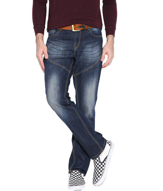 Hubberholme Navy Regular Fit Jeans