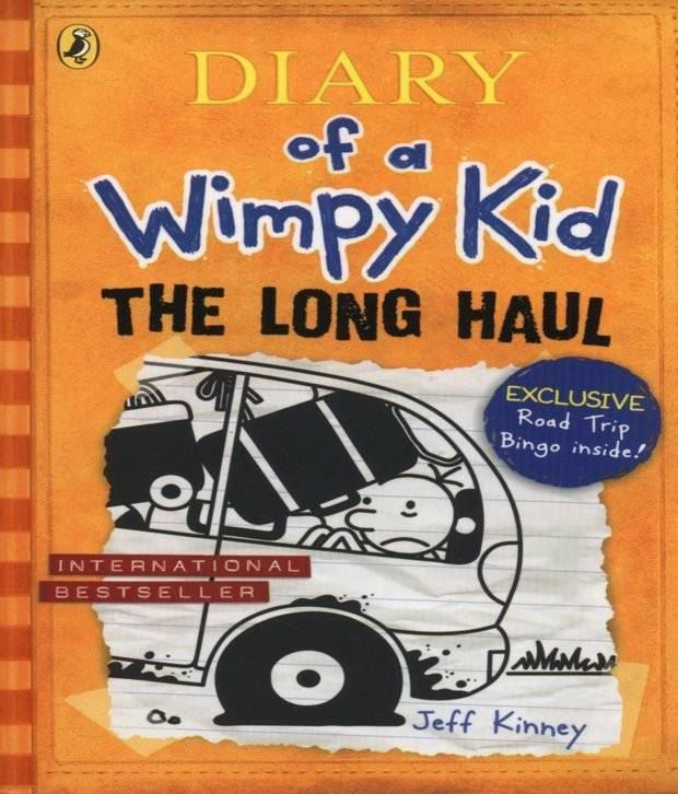 The Long Haul Diary of a Wimpy Kid Paperback (English) 2015