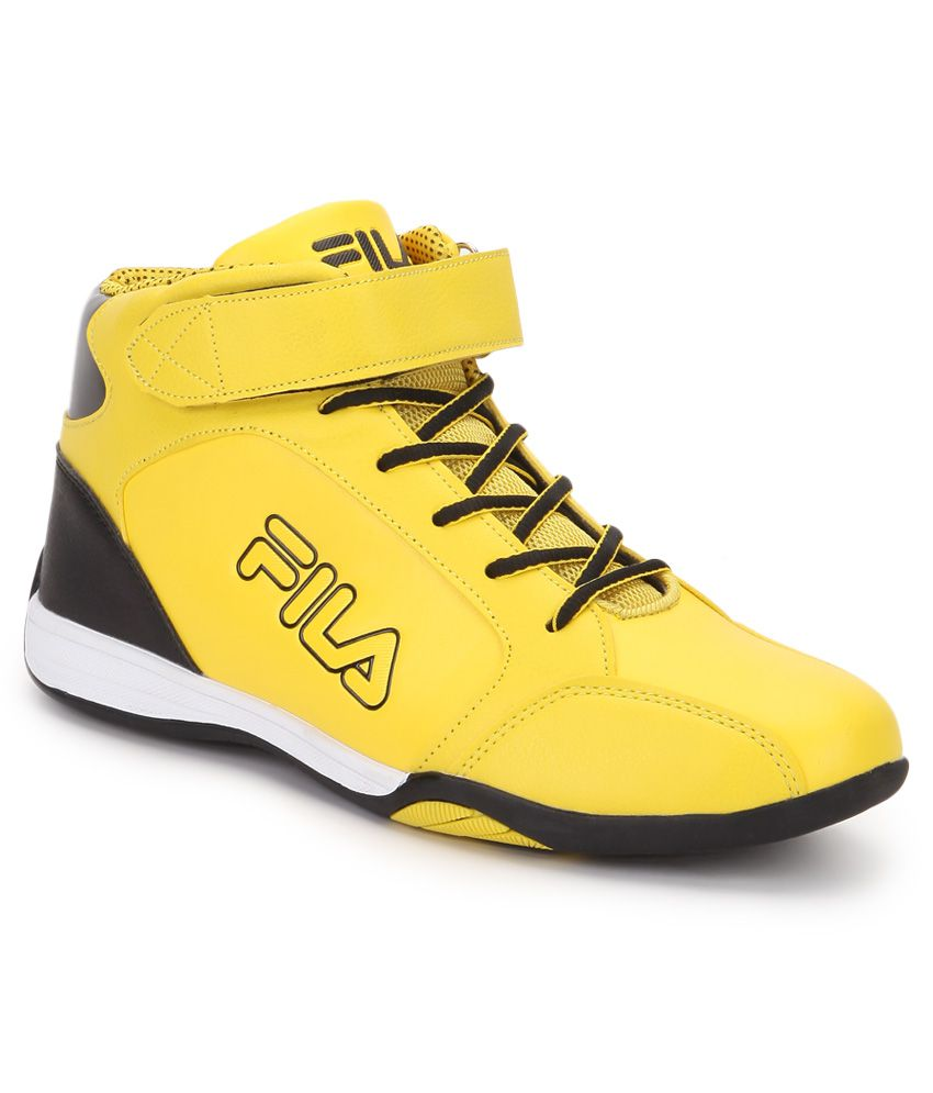 Fila Basketball Shoes Yellow