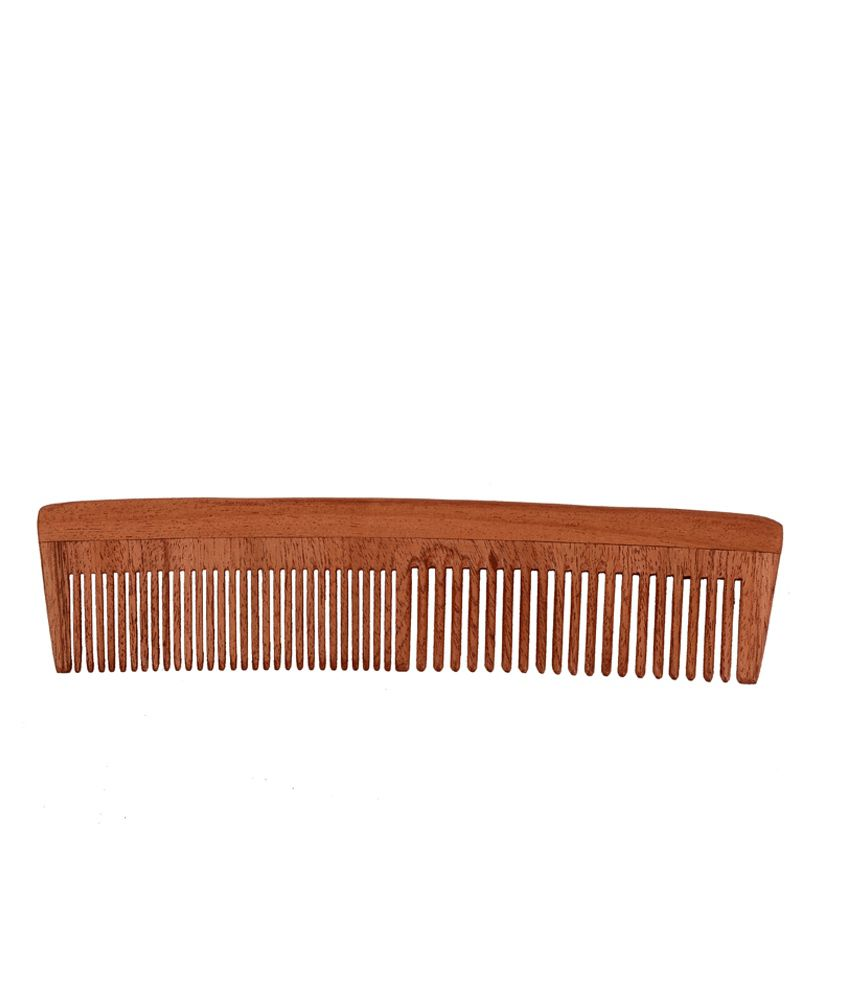 By Nature Neem Wood Multi Purpose Comb