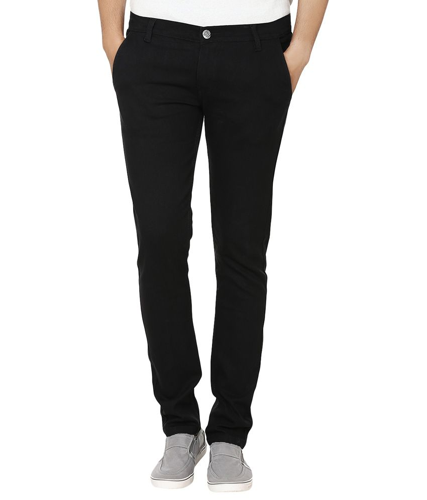 Club Vintage Black Slim Fit Jeans
