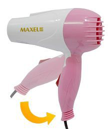 Maxel Ak 001 Foldable Hair Dryer 1100WMulticolour