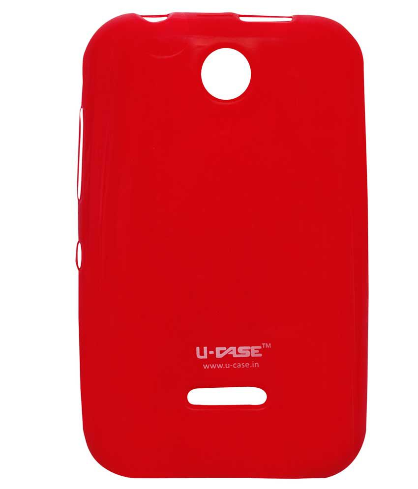 new product 98c04 b6c07 Oyedeal Plain Back Cover Case For Nokia Asha 230 - Red