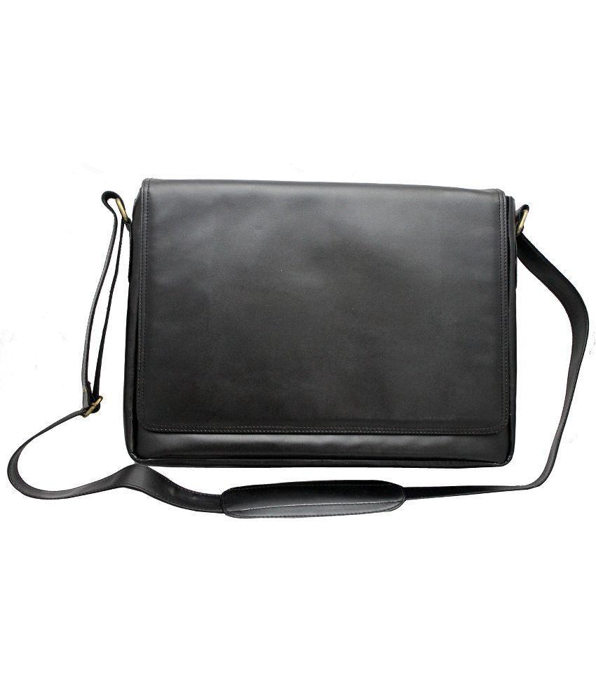 Nappastore Black Laptop Bag