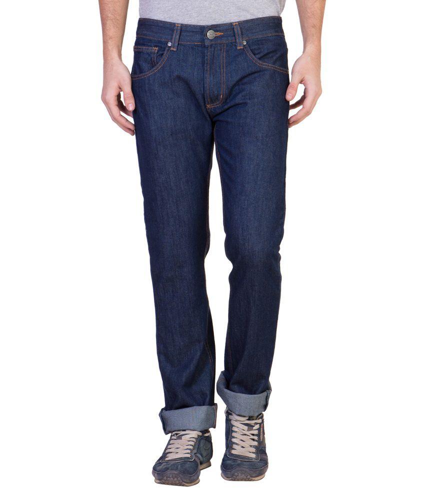 Ruf & Tuf Navy Slim Fit Jeans