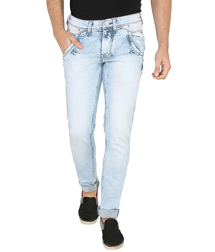LD Jeans Co Blue Slim Fit Jeans No