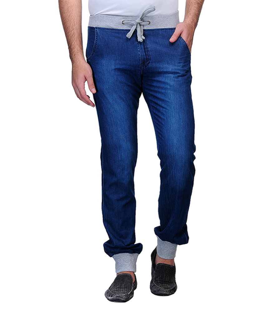 Wear Your Mind Navy Regular Fit Chinos No