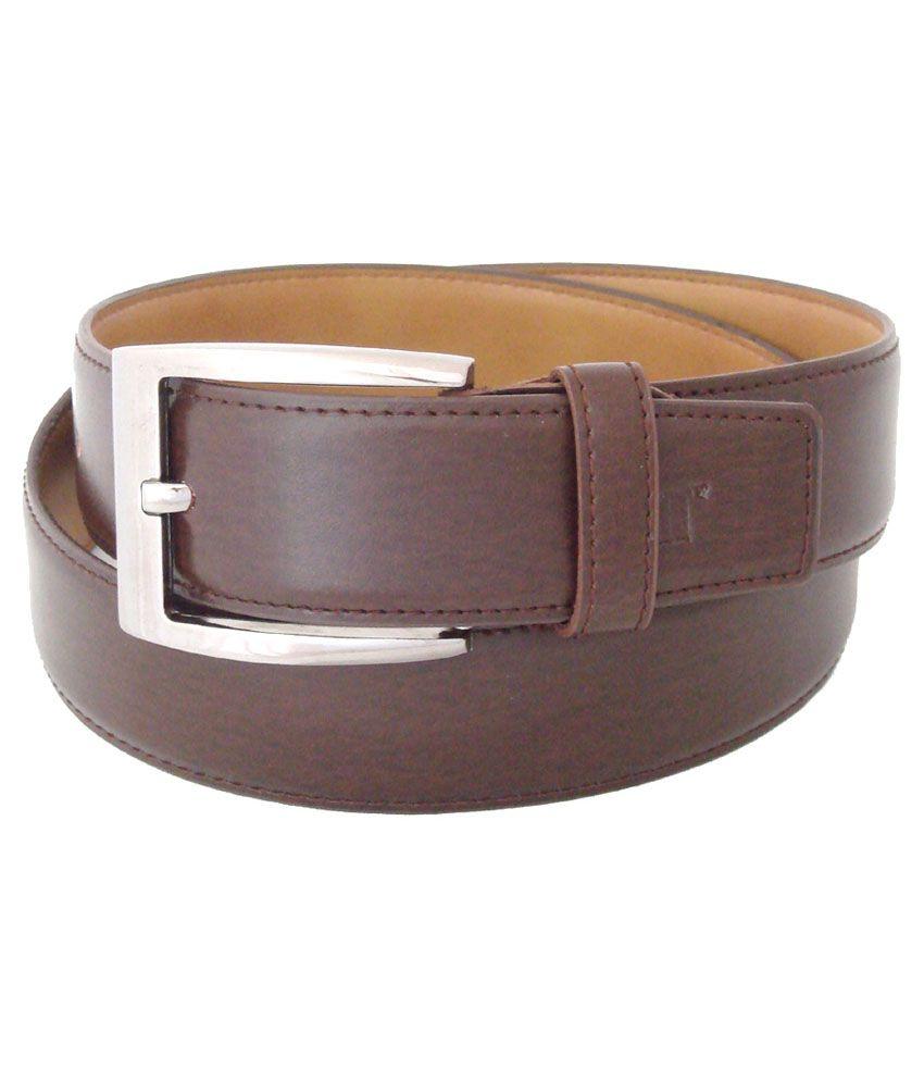 SFA Brown Casual Belt For Men