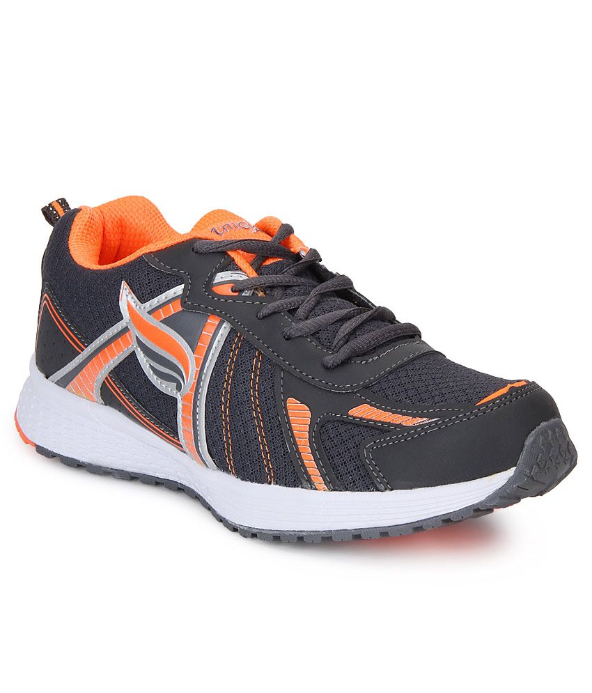 Mmojah Gray Running Sports Shoes