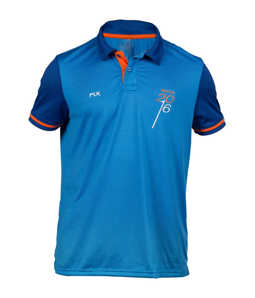 FLX Cricket World T20 India T-Shirt By Decathlon
