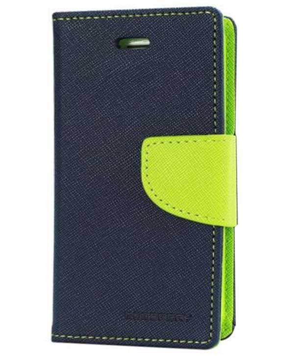 online retailer edca8 d3626 Goospery Mercury Diary Flip Cover For Samsung Galaxy J2 - Blue
