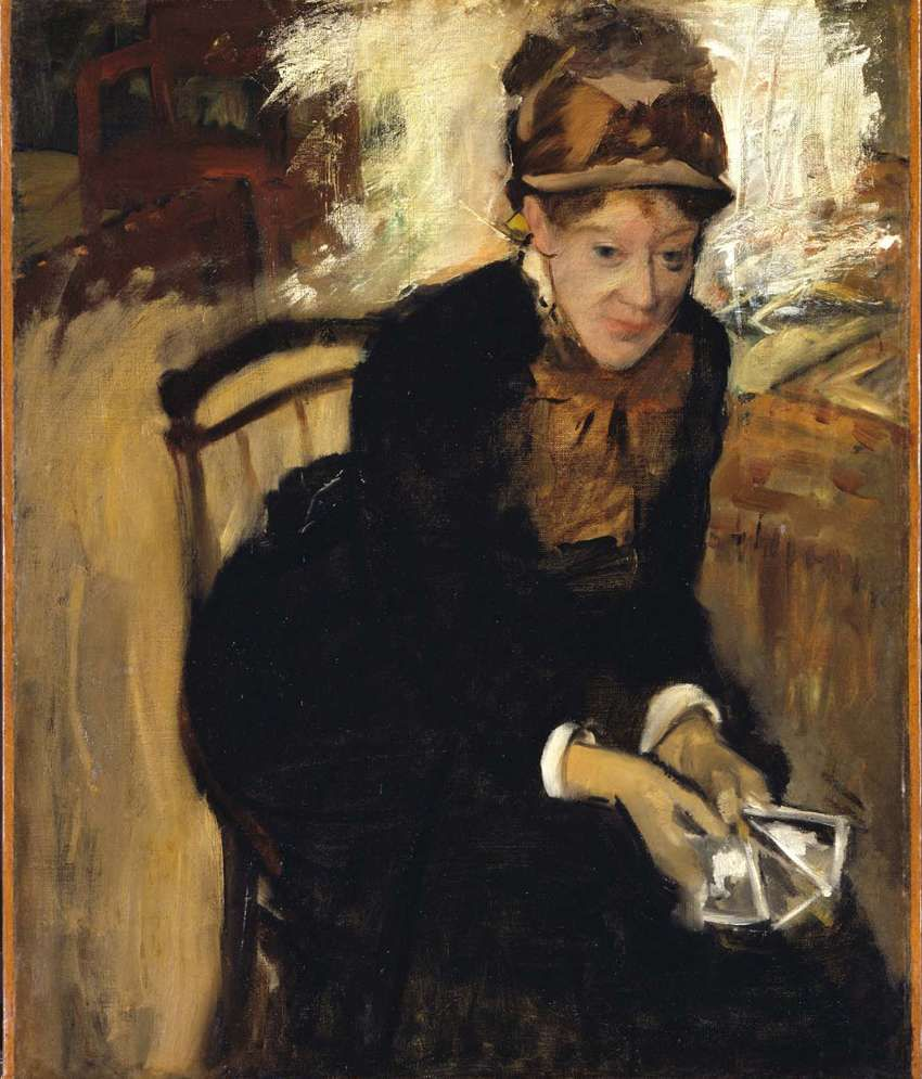 Tallenge Mary Cassatt Painting With Wood Frame