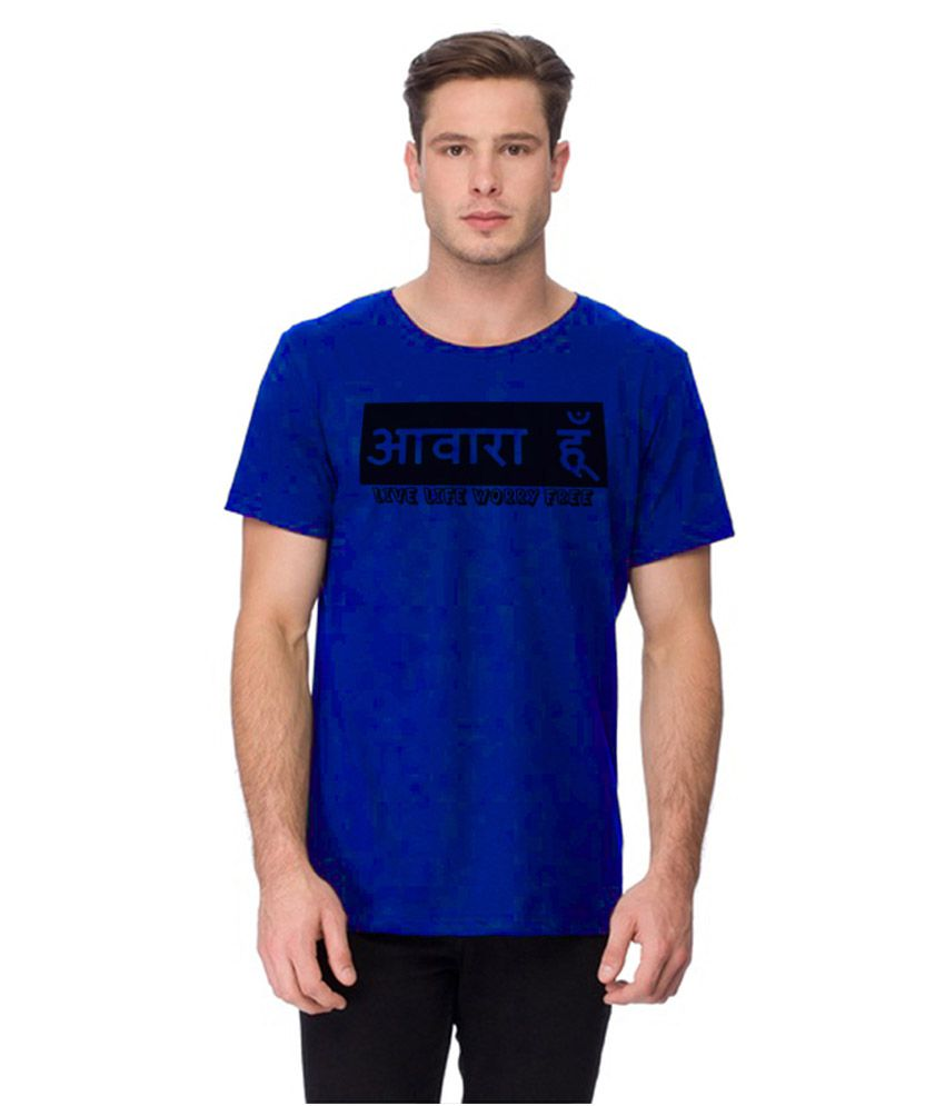 Young Trendz Blue Round T Shirts