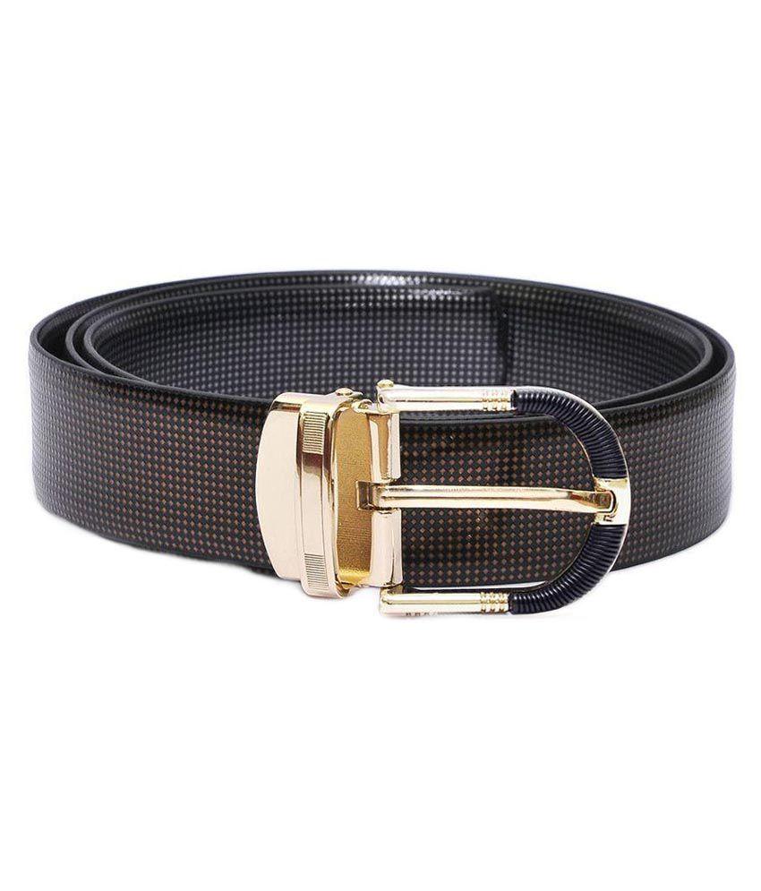 Beltkart Brown Leather Formal Belt For Men