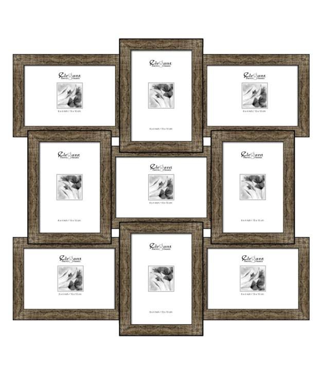 Elegant Arts & Frames 9-in-1 Collage Photo Frame