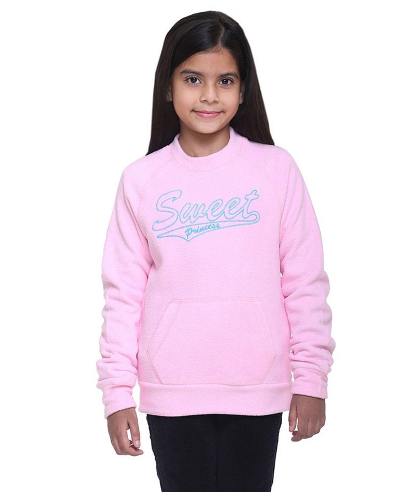Kids-17 Pink Fleece Sweatshirt
