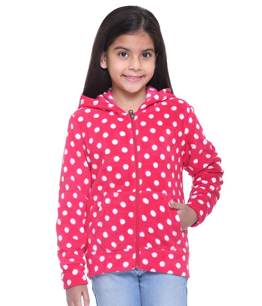 Kids-17 Pink Fleece Sweatshirt
