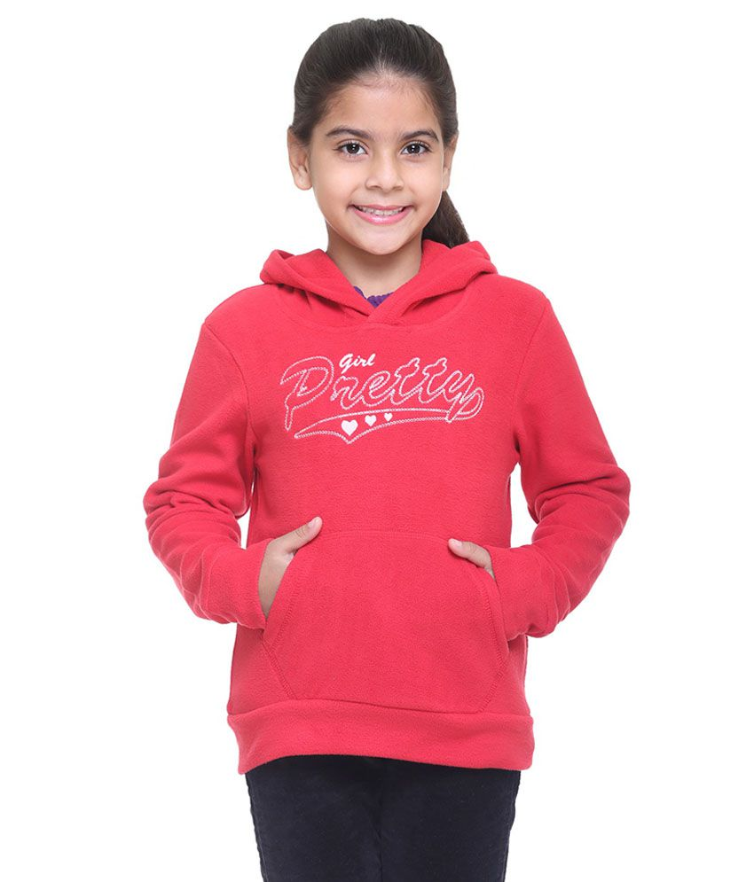 Kids-17 Red Fleece Sweatshirt