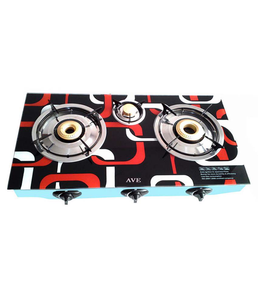 Surya AV0052 Automatic Gas Cooktop (3 Burner)