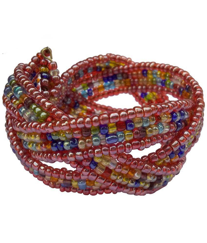 Swadesibuyzzar Multicolor Glass Bracelet